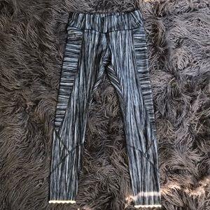 Lululemon crop with reflector leggings